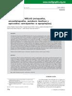 Articulo Sindrome de Melas