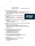 MCQ for Management