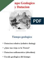Tiempo Geologico datacion