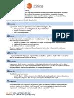 Excellent Requirements Checklist