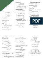 Formulario Probabilidad y diseño de experimentos