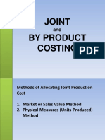 Joint and By Product Costing