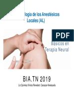 anestésicos locales terapia neural