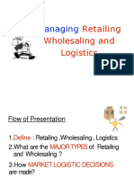 Chapter16 Managingretailingwholesalinglogistics 100511052820 Phpapp02 Converted