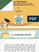 PPT proposal urine.pptx