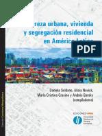 Pobreza urbana vivienda y segregacion residencial