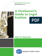 [Bookflare.net] - A Freelancer's Guide to Legal Entities.pdf