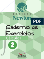 Caderno Exercicios Calculo 1 - Vol 2 - Projeto Newton