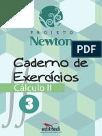 Caderno Exercícios Cálculo 2 - vol 3 - Projeto Newton