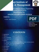 online exam project