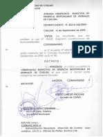 Ordenanza Municipal Chillan (2009)