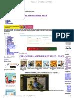 PRELIMINARY AMPLIFIER ON 12AU7 + TL072_