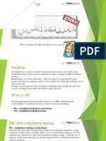 EMC Pre Compliance Testing