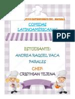 Comida Latinoamericana Completo
