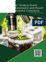 4th World Plant Genomics and Plant Science Congress   Osaka, Japan   May 20-21, 2020