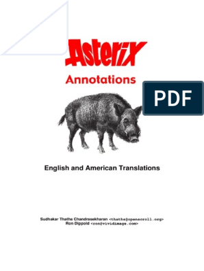 The Asterix Annotations
