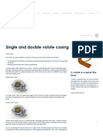 Single and Double Volute Casing - Rodelta
