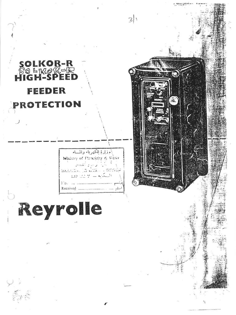 Solkor R Old manual