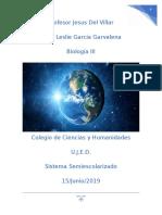 Proyecto Biologia 3 Teorias de La Vida Maestro Del Villar