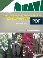 Universidad de Ewha en Korea del Sur para Mujeres
