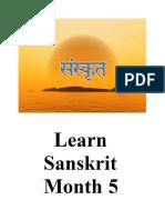 Learn sanskrit 5
