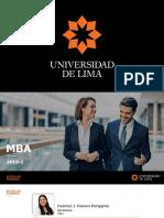 Presentación MBA 2019-2