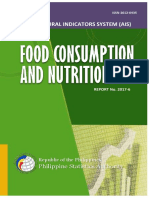 Ais Food Consumption and Nutrition 2017