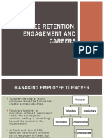Employee Retention, Engagement and Careers