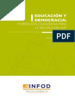 Infod Educación y Democracia