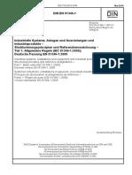 [DIN en 81346-1_2010-05] -- Industrielle Systeme, Anlagen Und Ausrüstungen Und Industrieprodukte – Strukturierungsprinzipien Und Referenzkennzeichnung – Teil 1_ Allgemeine Regeln
