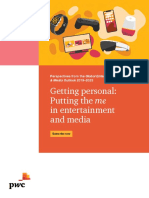 Entertainment and Media Outlook Perspectives 2019 2023 Pwc