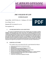 Syllabus in Constitutional Law 1 (SY 2019-2020)