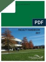 UFV Faculty Handbook