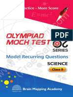 Mock Tests 20 20 Class 9 Science Sample