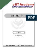 NSTSE Level 2 Solutions(25!10!2015)