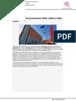 Insieme per la promozione della cultura della salute - Ancona news.it, 23 agosto 2019
