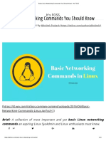 Basic Linux Networking Commands You Should Know