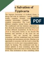 The Salvation of Tṛṇāvarta