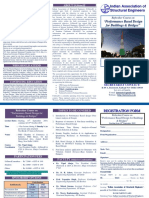 Announcement - Refresher Course on Performance Based Design for Buildings & Bridges, Sep-Oct 2019