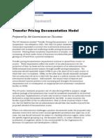 Transfer Pricing Documentation Model 180-498-Final