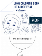 A read-along coloring book about surgey at Children´s