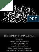 Presentation on Bata Pakistan