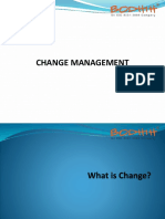 Change Management - Training Presentation