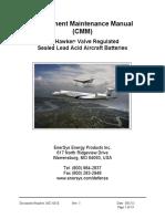 2602-0018 Aviation CMM - Hawker VRLA (rev 5)