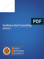 Dedu502 Guidance and Counseling English