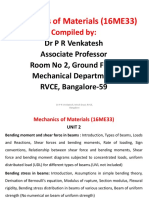 Mechanics of Materials Ntes