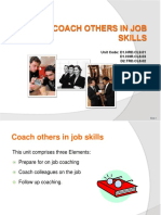 PPT Coach Others in Job Skills 310812