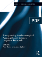 (Routledge Advances in Corpus Linguistics 17) Paul Baker (Editor), Jesse Egbert (Editor) - Triangulating Methodological Approaches in Corpus Linguistic Research-Routledge (2016)