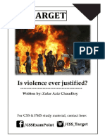 IS violence ever justified