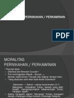 moralitas pernkahan